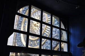 L'horloge astrologique vue de l'intérieur
