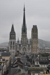 La Cathédrale vue du toit du Beffroi
