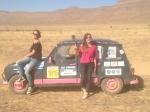 Petite pause dans le désert