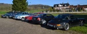 De nombreuses voitures malgré la concurrence du Rallye de Neufchâtel