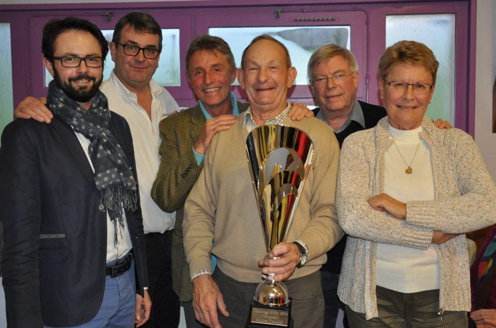 Michel Dumont, vainqueur du Challenge 2016